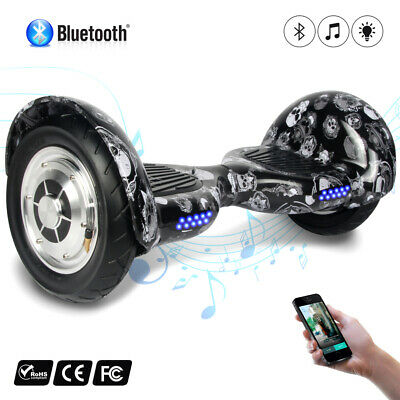 "10""  Bluetooth Skateboard Gyropode scooter électrique Self Balance overboard sac"