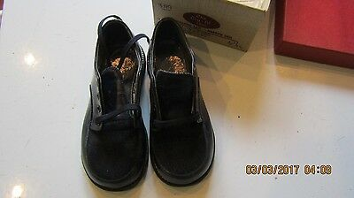 Vintage Childrens Shoes -Perfect Photo Props Tru Fit Narrow heel Boys