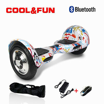 "10""Gyropode Skateboard scooter électrique Bluetooth Self Balance overboard sac"