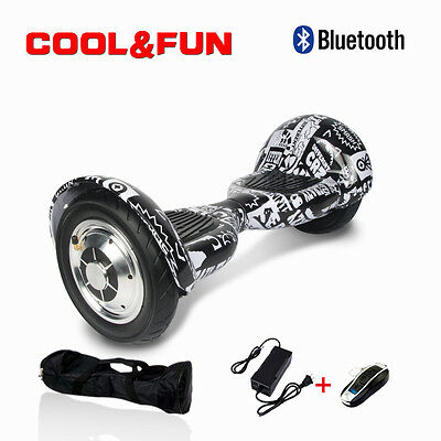"10""Skateboard Gyropode scooter électrique Self Balance overboard Bluetooth sac"