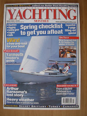 YACHTING MONTHLY MAGAZINE MARCH 2002 No 1147