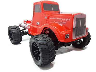 HIMOTO Road Warrior 1:10 SCALE RTR 4WD ELECTRIC BIG PETE MONSTER TRUCK  RC 31901