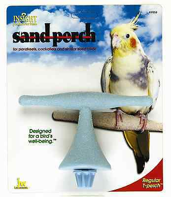 Jw Regular Bird Cockatiel Budgie Parakeet Sand T Perch Bolts To Wire Cage