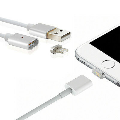 Cable USB Chargeur Magnetique iPhone 5 6 7 iPad Charger Magnetic Synchro Data