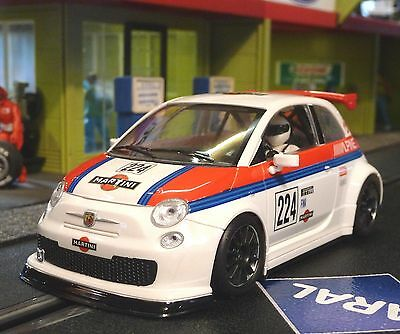 NSR FIAT Abarth 500 Team MARTINI in 1:32 auch für Carrera Evolution    800033SW