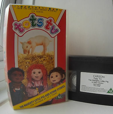 Tots TV - The Naughty Little Pig and Other Stories VHS Video
