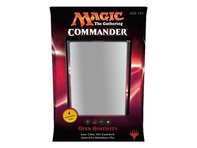Magic: The Gathering - Commander 2016 Deck - Open Hostility