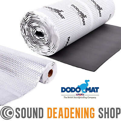 Dodo Mat Car Sound Deadening Soundproofing & Insulation Kit