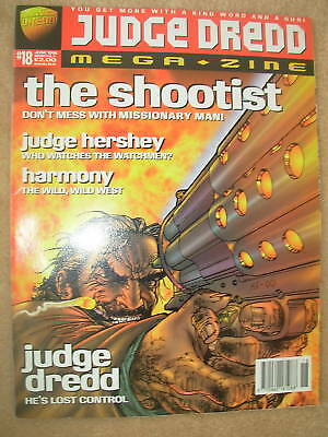 JUDGE DREDD MEGAZINE No 18 JUNE 1996
