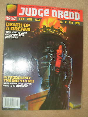 JUDGE DREDD MEGAZINE No 23 NOVEMBER 1996