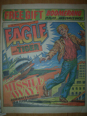 Eagle And Tiger Comic # 205 1986