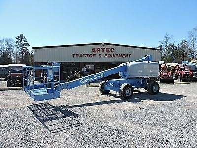 2008 Genie S40 Boom Lift - 40' Reach -  8' Basket - 4X2 - Diesel Engine!!
