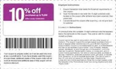 2~ Lowes 10% off Codes! PRINTABLE OR ONLINE USE-Coupon -EXP  4/30/17!