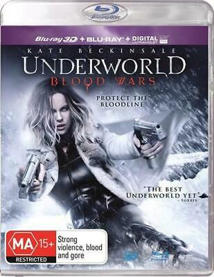 Underworld - Blood Wars | 3D + 2D Blu-ray + UV - Blu Ray Region A,B,C Free Shipp