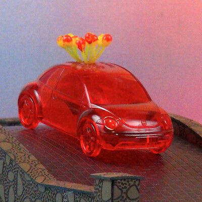 1998 VW Beetle Promo Car Collectible Pencil Holder - Resin - Red - Free Shipping