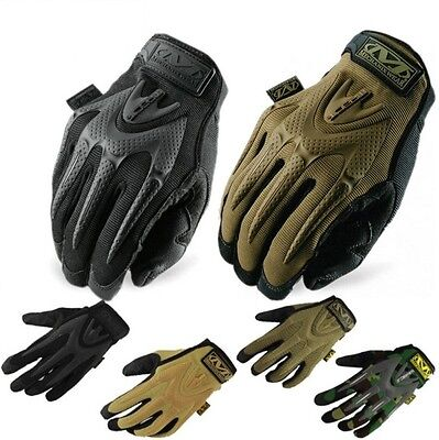 Mechanix M-PACT Gloves Tactical Mechanic Bike Military Army Paintball Sports