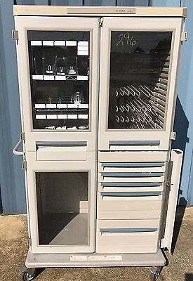 Metro Starsys Double-Wide Medical Catheter Storage Cabinet w/Drawers