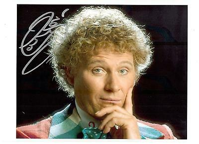 Colin Baker Authentic Signed Autograph Montreal Comiccon 2014 Sixth Doctor Who