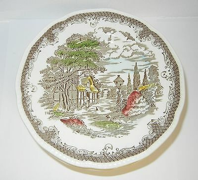 9 Vintage Shakespeare's Sonnets Ironstone & Sandwich Plates - Never Used