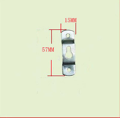 Lots 10-100PCS Picture Frame Hanging + Screws Saw Tooth Hangers Hooks 57*15MM