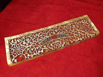"Gold Royal Artist Accordion Repair Part - Treble Grill 18"" x 5.5"" x 1.25"""