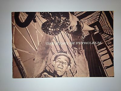 Vintage The Story of Petroleum  1960 Shell Oil Company Booklet