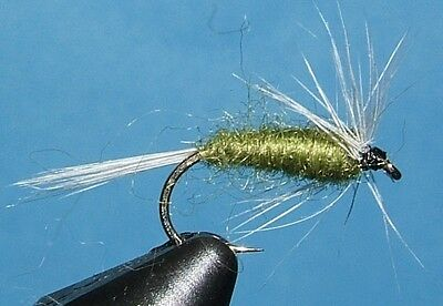 Blue Winged Olive – 12 NYMPHS - #14, 16. 2 styles