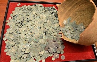 Medieval Silver European Coins Lot Free Shipping Worldwide