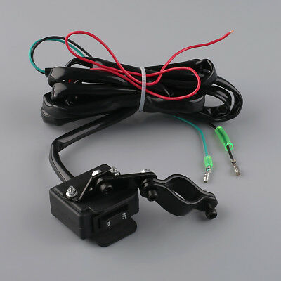 2.4M Winch Rocker Switch Handlebar Control Line Warn Accessories For ATV/UTV DIY