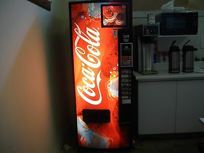 Dixie Narco Coke soda vending machine