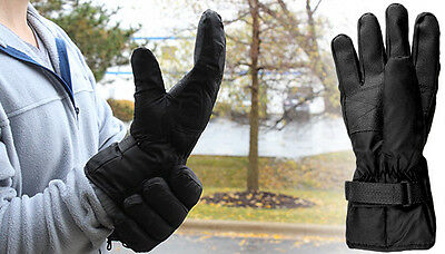 Heated Gloves InsulateUnisex Battery Operated Auto Home Camping Outdoor Winter