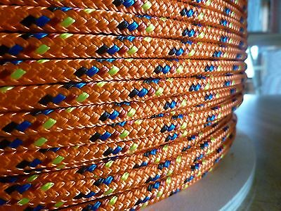 "3/16"" x 150 ft. Double Braid Yacht Braid Polyester.Sailboat Line/ Marine Rope"