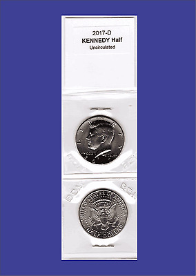 2017-D Kennedy Half Dollar, 1-coin  Uncirculated