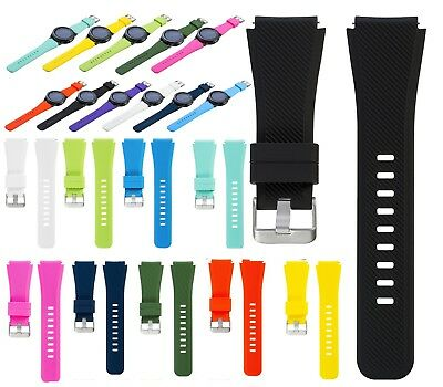 22mm Silicone Watch Band Strap Bracelet For Samsung Gear S3 Classic/S3 Frontier