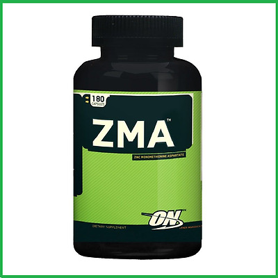 Optimum Nutrition ZMA 180 Capsules Recovery Zinc ON B6 Magnesium FAST SHIP AUS