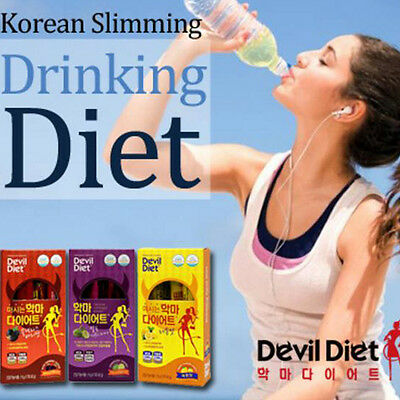 Drinking Devil Diet Simple MIx with Water  Weight loss  Slimming