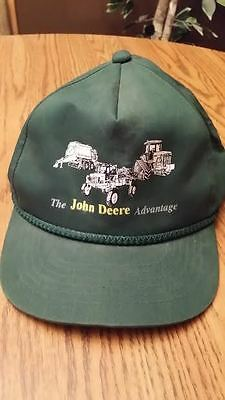 "Vintage John Deere Hat ""The John Deere Advantage"""