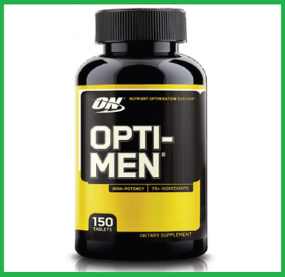 OPTI-MEN by Optimum Nutrition 150 Tablets - VALUE MULTI-VITAMIN MENS HEALTH AUS