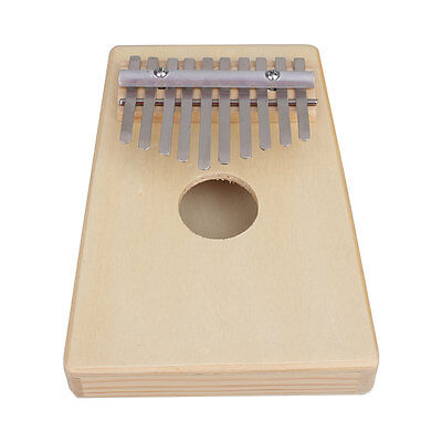 10 Key Finger Thumb Music Pocket Piano Kalimba Mbira Musical Instrument