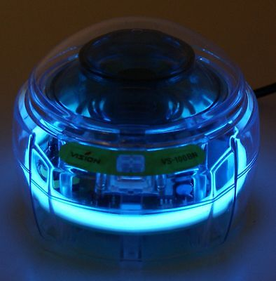 LMS VS-100B Crystal 8 Blue Mini Centrifuge & 8 Place 1.5 / 2.2 ml Rotor