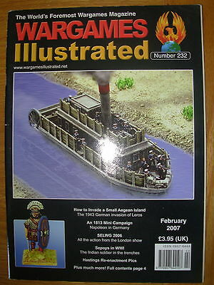 WARGAMES ILLUSTRATED No 232 FEBRUARY 2007 1943 GERMAN INVASION OF LEROS WWII