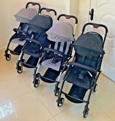 Stroller Compact Travel Stroller Pram Carry On Yo Luggage Small - 4 COLOURS