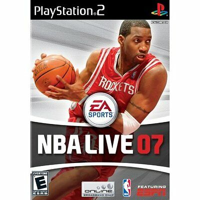 NBA Live 07 For PlayStation 2 PS2 Basketball Baseball Game Only 8X