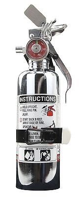 "Halotron ""Chrome""1.4lb Fire Extinguisher *CleanAgent*  HalGuard A384TC H3R Halon"