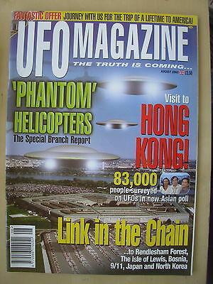 Ufo Magazine - The Truth Is Coming - August 2003