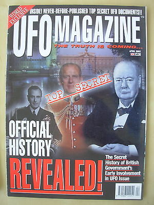 Ufo Magazine - The Truth Is Coming - April 2002