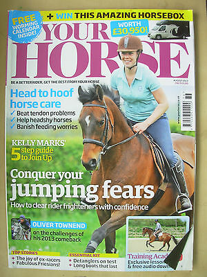 Your Horse Magazine August 2013