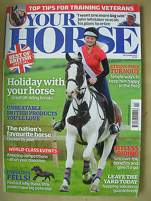 Your Horse Magazine September 2014
