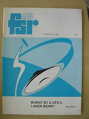FSR FLYING SAUCER REVIEW MAGAZINE - VOLUME 28 No 3 - 1983 - UFO