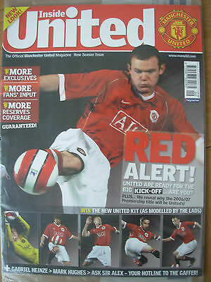 Manchester United Official Magazine Issue 170 September 2006